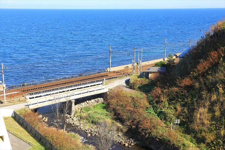 太平山神社と小樽の海