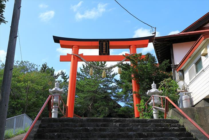 高島稲荷神社 第2鳥居
