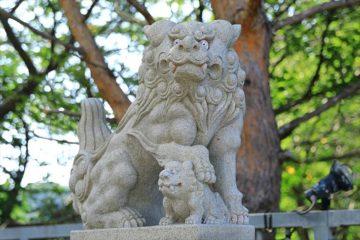 高島稲荷神社 狛犬