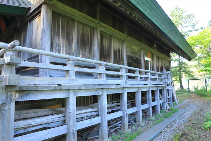 高島稲荷神社 社殿