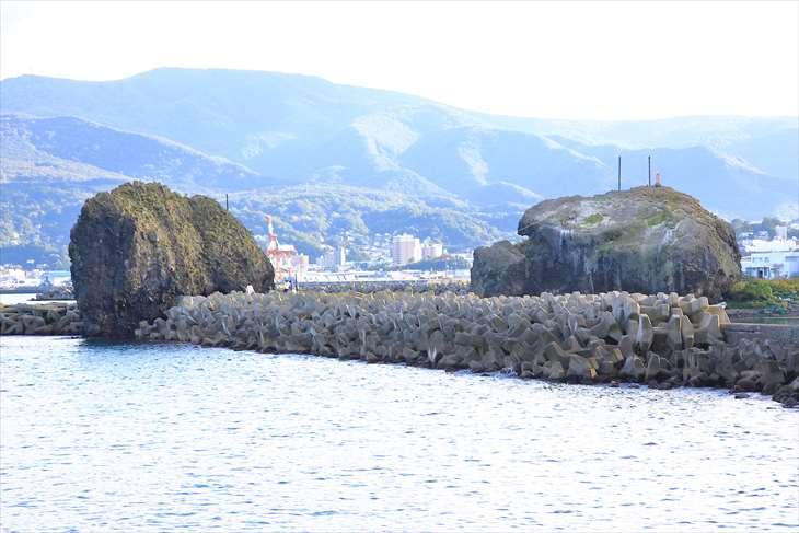 小樽高島の弁天島