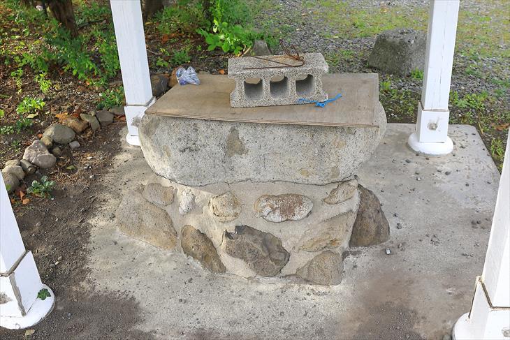 豊足神社の手水鉢