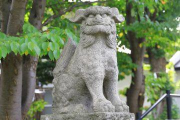 豊足神社 狛犬