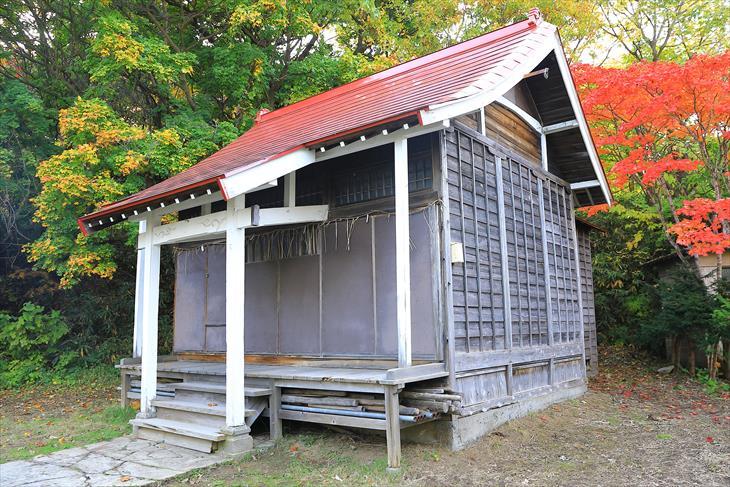 厩稲荷神社 社殿